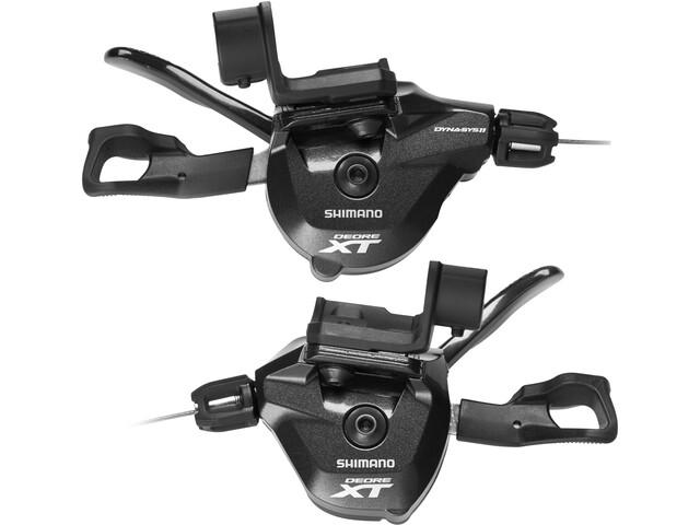 Shimano Deore XT SL-M8000 Schalthebelset 2/3x11-fach schwarz